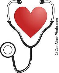 medizin, herz, symbol