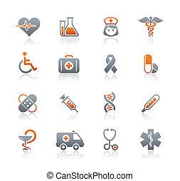 Medizin- und Gesundheits-Ikonen