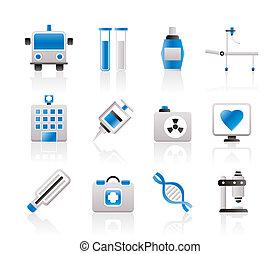 Medizin und medizinische Ikonen