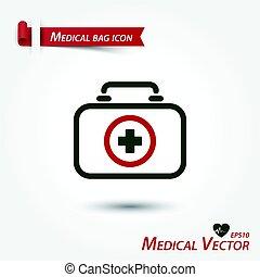 Medizinbeutel Ikone.