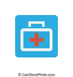 Medizinbeutel-Ikone