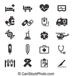 Medizinische Ikonen.