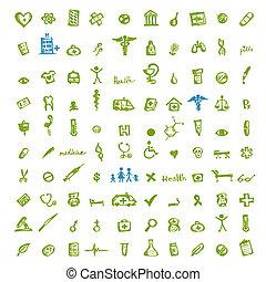 Medizinische Ikonen für Ihr Design
