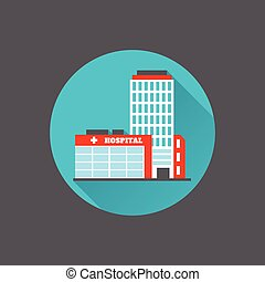 Medizinisches Gebäude.