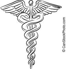 Medizinisches Symbol.