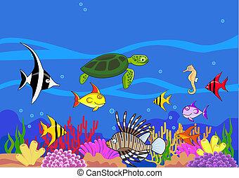 Meeresleben