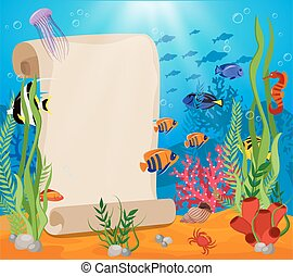 Meereslebenskomposition.