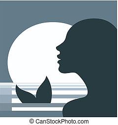 Meerjungfrauen-Hirnprofil