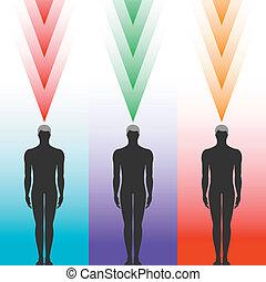 Menschliche Körpersilhouette