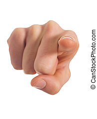 menschliche , zeigen, hand