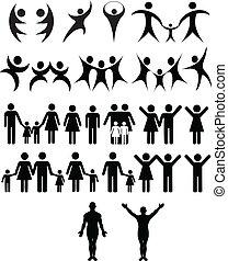 Menschliches Symbol