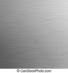 metall, eps, hintergrund., schablone, 8, gebürstet