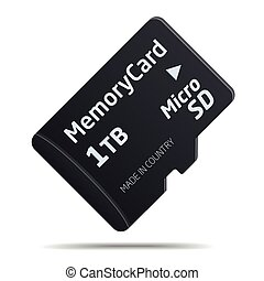 Micro SD Speicherkarte.