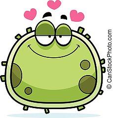 mikrobe, liebe, keim