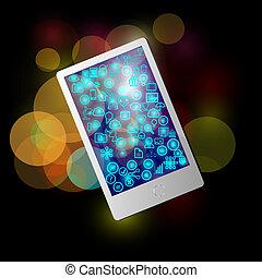Mobile Application Icon Sammlung.