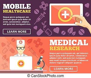 Mobile Gesundheitsversorgung, medizinische Forschung