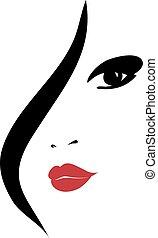 Modefrau Silhouette