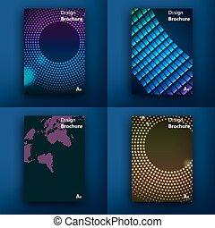 modern, template., post, saa, interface., web, web, concept., satz, linie, wohnung, design., app, templates., s, design, brochures., ui, beweglich, beweglich, icons., technologie, infographic