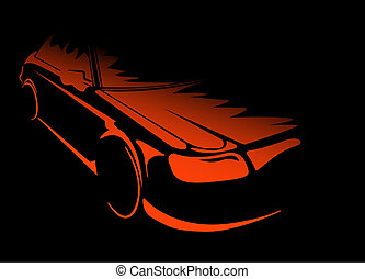 Modernes Auto
