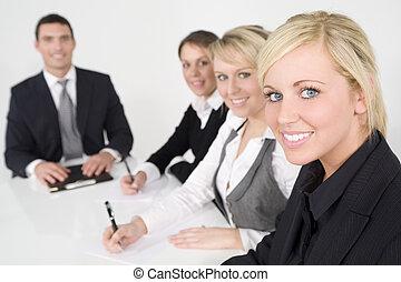 Modernes Büroteam