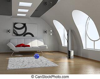 Modernes Inneres