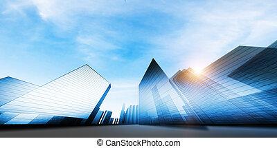 Modernes Stadtprojekt