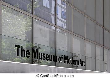 Moma Museum der modernen Kunst, New York City