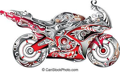 Motorräder abstellen