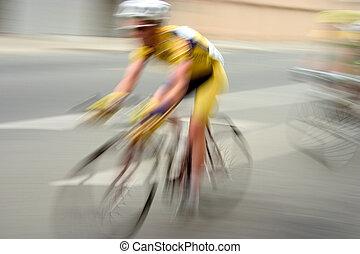 Motorradfahrer Nr. 1