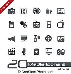 Multimedia-Ikonen / Basis