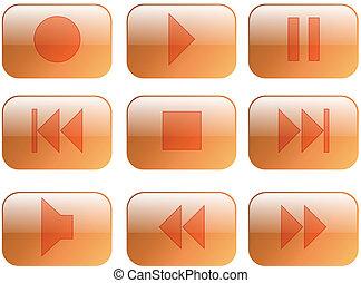 Multimedia-Knopf