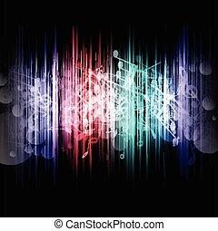 Musik abstrakt 1107.