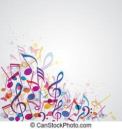 Musik abstrakter Hintergrund