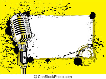 musik, design, ereignis, (vector)