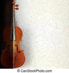 Musik Hintergrund mit Geige deaktivieren