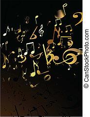 Musik im Hintergrund
