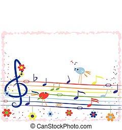 Musik-Regenbogen