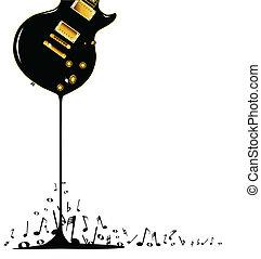 musik, strömend