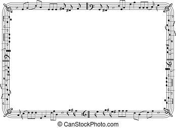 Musikalische Darstellung