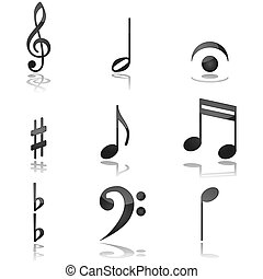 Musikalische Noten
