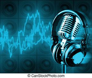 Musikenergie (plizierender Pfad, XXL)