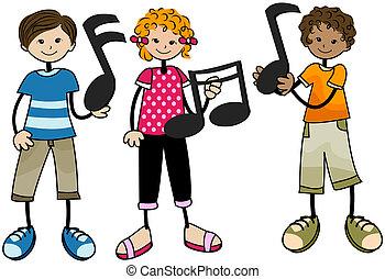 Musikkinder