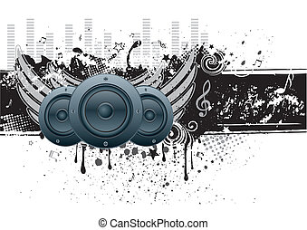 Musikvektor-Hintergrund