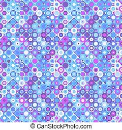 muster, bunte, seamless, hintergrund, mosaik, kreis, geometrisch