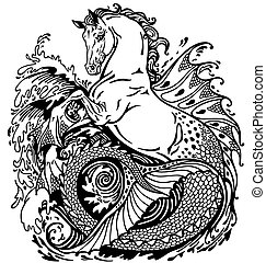 Mythologische Hippocampus