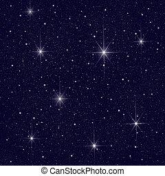 Nachthimmel.