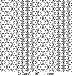 Naheloses Kunst-Deko-Geometrische Linienmuster Hintergrund.