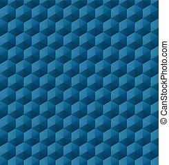Nahmlose geometrische Muster