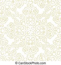 Nahmlose Tapete. Abstract Gold Hintergrund.