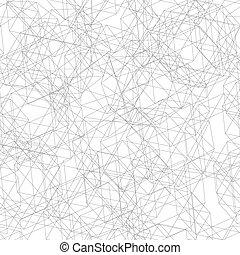 Nahtlose Muster aus feinen Linien zerfallen
